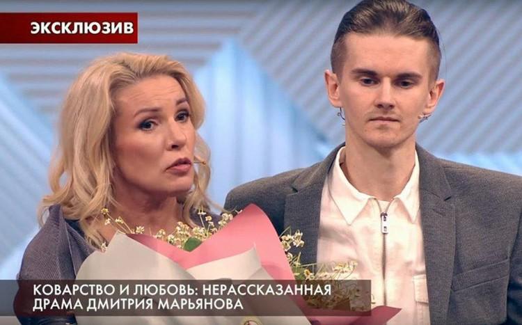 Ирина Лобачева с мужем Иваном Третьяковым на шоу «Пусть говорят»