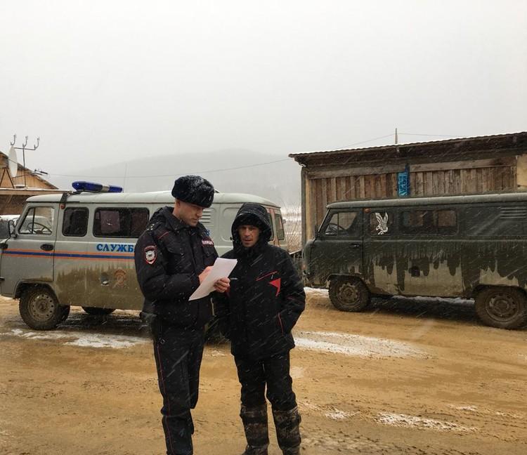 Пропавшего бульдозериста нашли полицейские