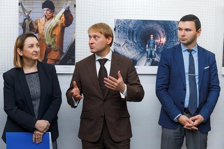 Директор по персоналу завода Ростсельмаш Денис Радионов. Автор фото: Сергей ШАБУНИН