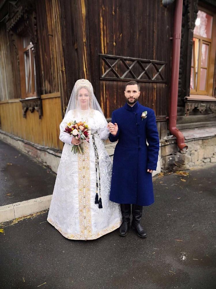 Выкуп невесты проходил в старинном особняке. Фото: предоставлено Ксенией Коковиной