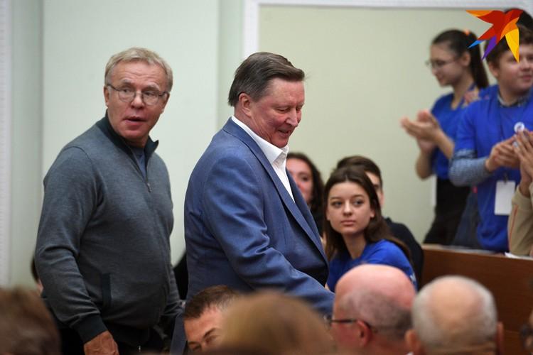Вячеслав Фетисов и Сергей Иванов писали Географический диктант