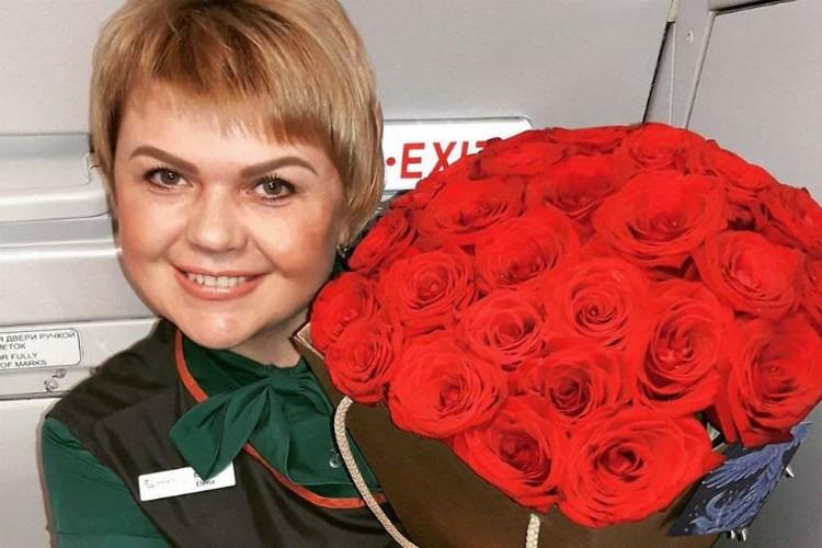 Елена Лапуцкая работает в авиации уже 18 лет. Фото: соцсети.