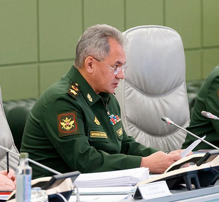 Министр Шойгу устроил жесткий разнос командирам