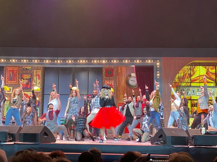 На сцене танцевали более 30 артистов балета. Фото: соцсети