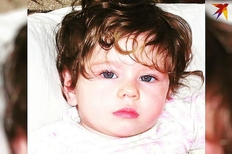 Такой девчушка была совсем маленькой. Фото: личный архив героини публикации