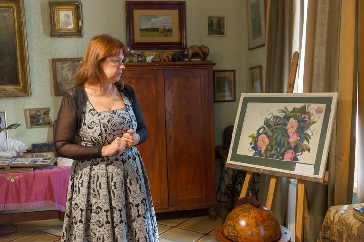 В домашней коллекции есть и работы Зинаиды Серебряковой: знаменитая художница тоже из рода Бенуа.