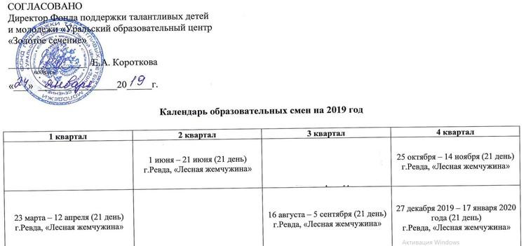 Смена должна была завершиться 14 ноября. Фото: скан документа