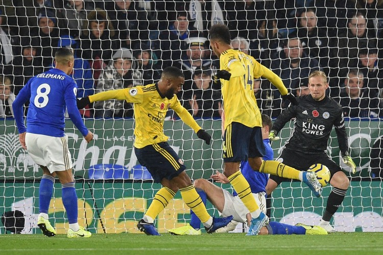Игра шла до первого гола. Больше повезло «Лестеру». Фото: twitter.com/Arsenal.