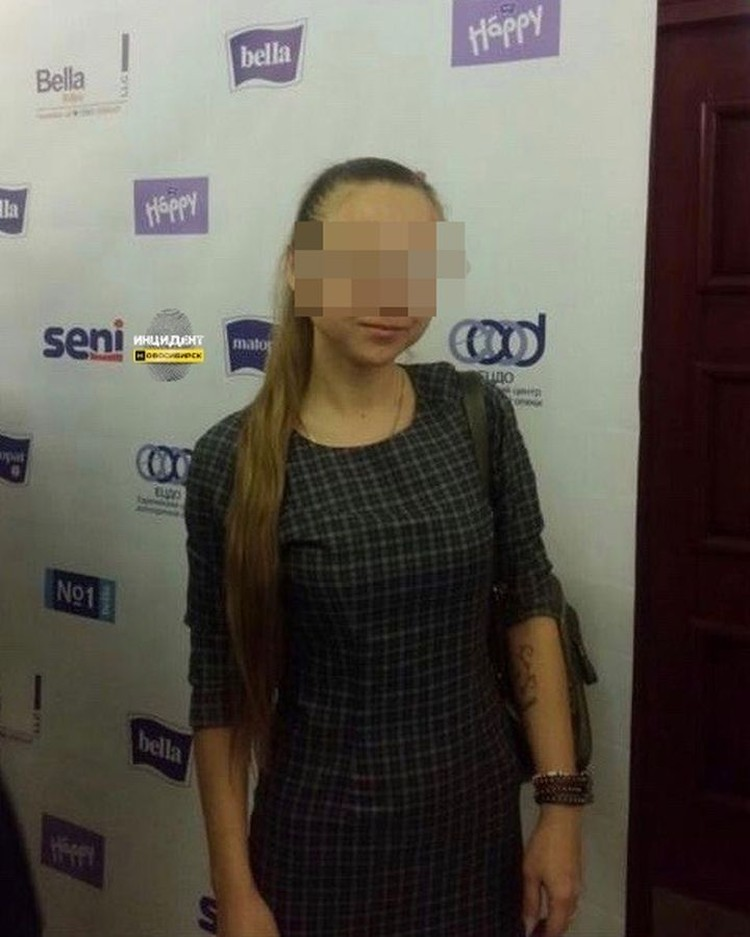 По словам мамы девочки, эта женщина обидела ребенка. Фото: «Инцидент Новосибирск».