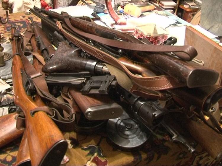 То самое изъятое оружие Фото: МВД РФ