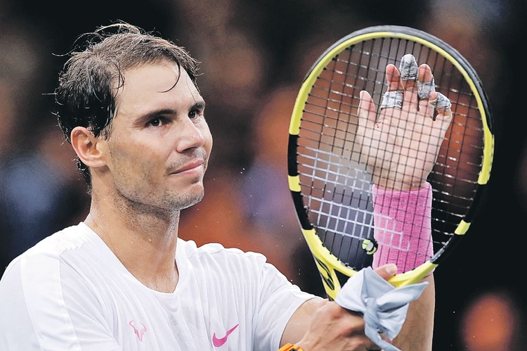 33-летний испанец Рафаэль Надаль сегодня лидер в мужском теннисе.