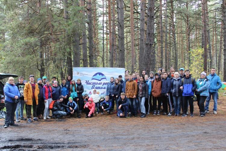 """Проекту """"Чистые реки Алтая"""" уже 10 лет. Фото: vk.com/adimtur_ecology"""