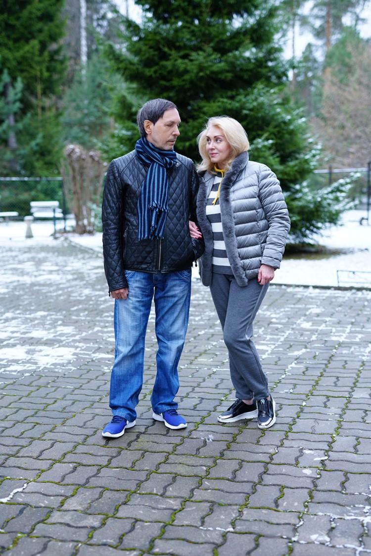 Николай Носков с супругой Мариной. Фото: Слава ФРИЙ
