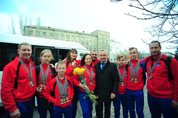 Гордость Республики - наши Чемпионы! Фото: Тимофей Котов