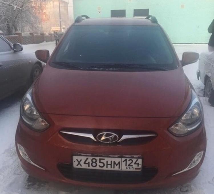 Машина Галины Миниенко Фото: соцсети