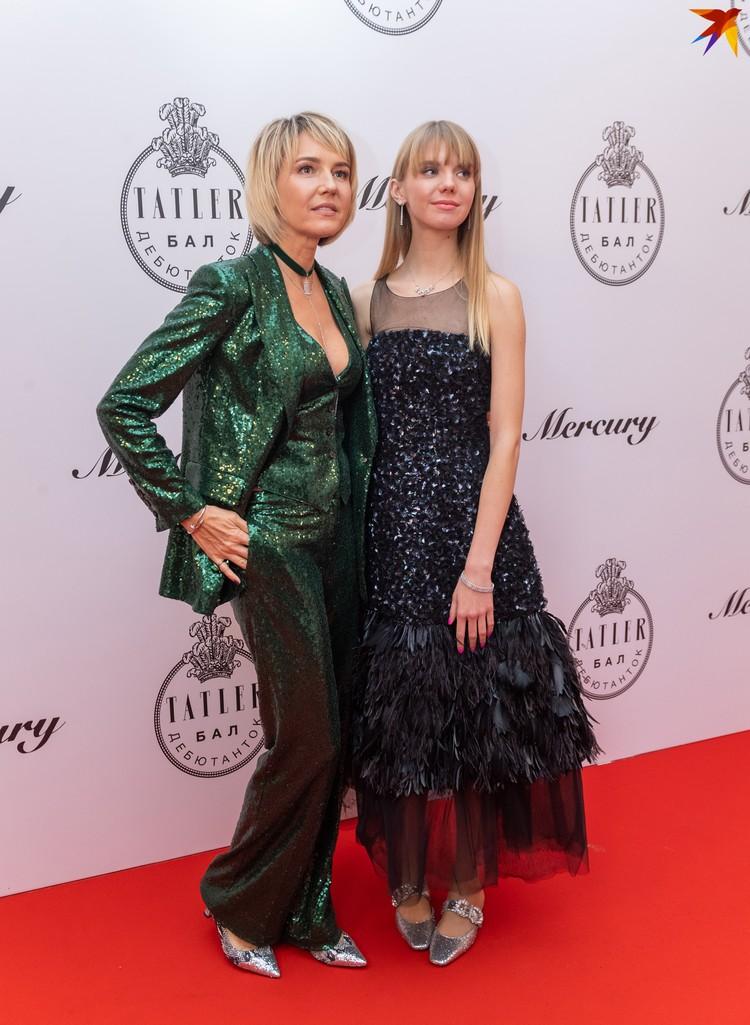 Юлия Бордовских с дочерью Марией.