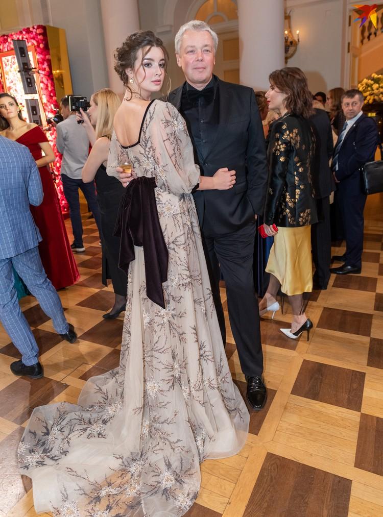 Режиссер и продюсер Александр Стриженов с дочерью Александрой.