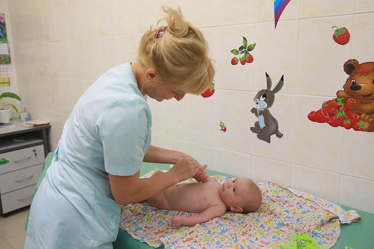 Малыш доволен своим доктором