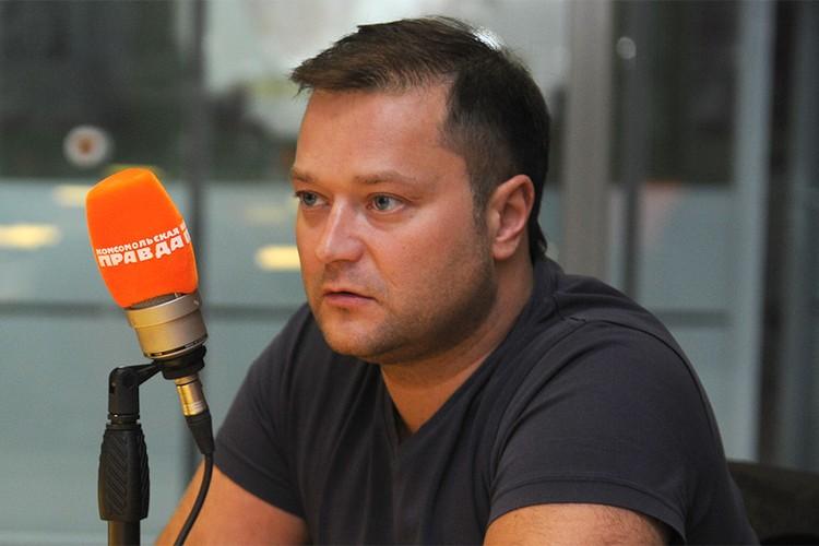 """Никита Исаев в эфире Радио """"Комсомольская правда""""."""