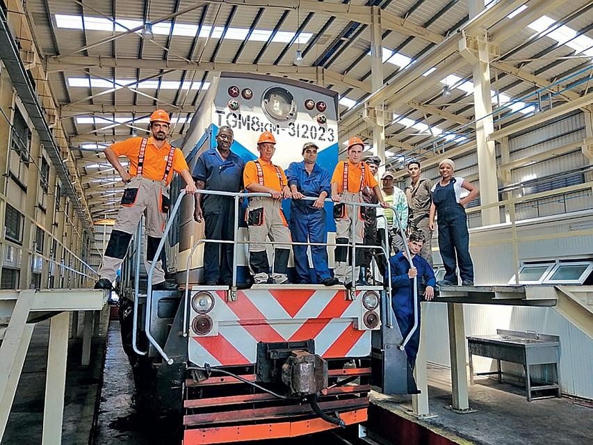 Холдинг «Синара–Транспортные Машины» реализует комплексный проект в железнодорожном секторе Республики Куба.