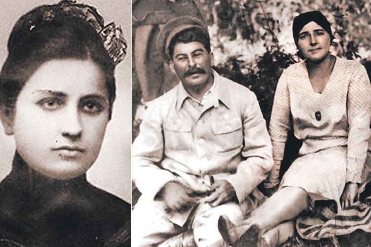 Выбери Джугашвили путь священника, как хотела его мама, и не женись на Като (на фото слева), возможно, не возникло бы ГУЛАГа. И совсем по-другому сложилась бы судьба его второй супруги Надежды Аллилуевой (на фото справа). Фото: wikipedia.org
