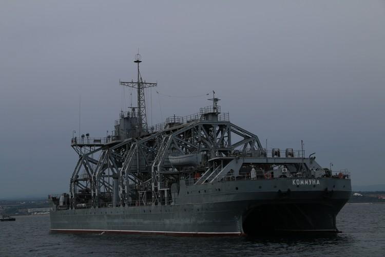 Самое старое судно ВМФ до сих пор в строю