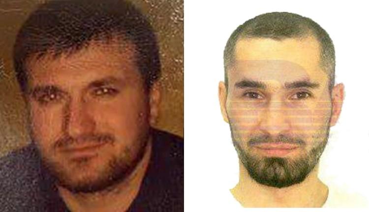 Картоев (слева) и фото из паспорта Дзязикова. Фото: личная страница Курейши Картоева в соцсетях / интернет-издание «Baza»
