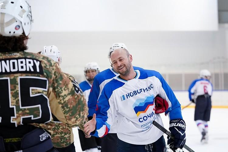 Гала-матч по хоккею на Российском инвестиционном форум в Сочи-2019. Предоставлено Фондом Росконгресс