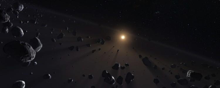 У другой звезды нашлось подобие пояса Койпера, имеющегося в Солнечной системе.