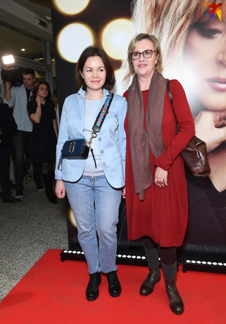 Актриса Ирина Розанова с племянницей