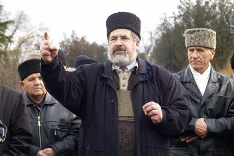 Рефат Чубаров хочет организовать пеший ход из Украины в Крым. Фото: официальная страница на Facebook