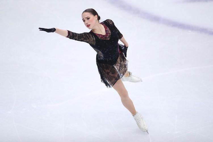 Алина Загитова оказалась на шестом месте.
