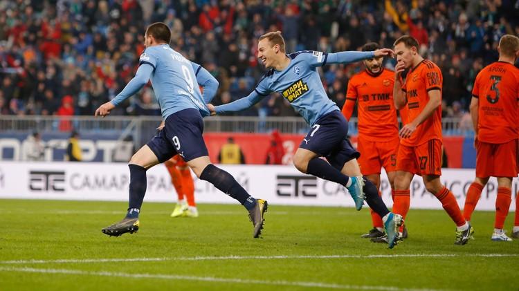 В составе «Крыльев» голами отметились Чернов и Радоньич.