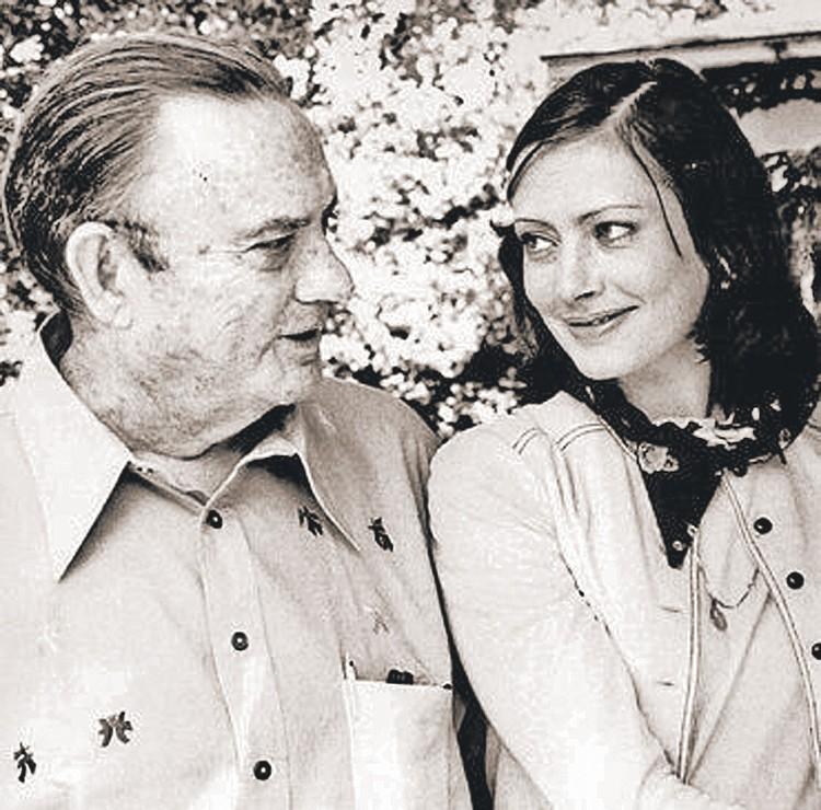 Дочь Зои Федоровой Виктория со своим американским отцом. 1975 год. Фото: Личный архив