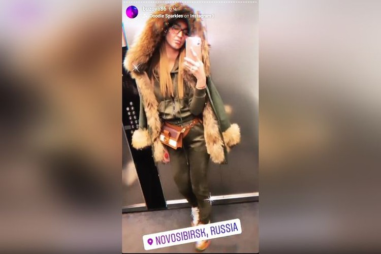 Ольга уже заселилась в отель. Фото: instagram.com