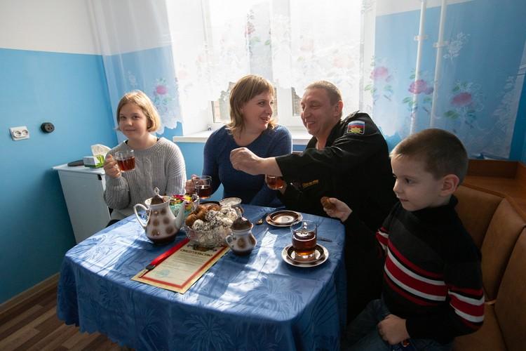 Семья Туснаковых почти семь лет ждала нового жилья