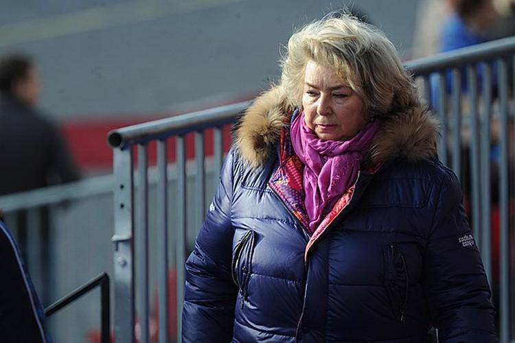 Заслуженный тренер России Татьяна Тарасова