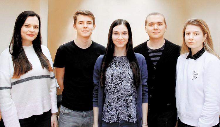 «Команда мечты» Надежды Куковякиной (в центре) рано или поздно дойдет и до Голливуда. А то, чего уж скромничать, и до «Мосфильма».