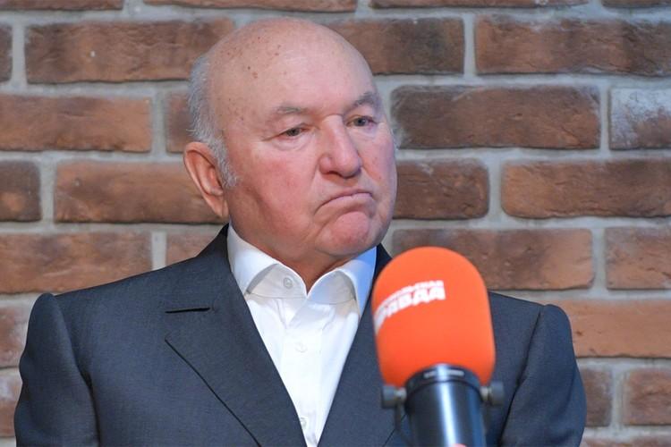 Юрий Лужков скончался 10 декабря 2019 г.