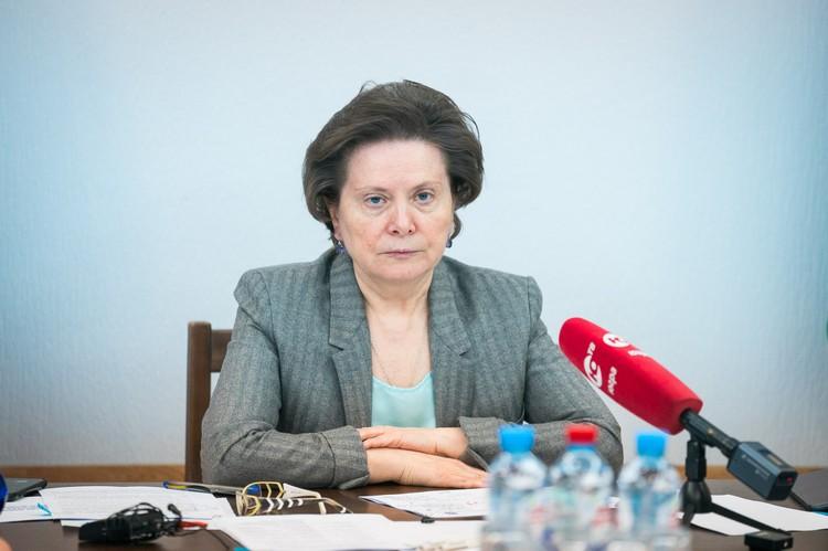 Наталья Комарова дала месяц на то, чтобы обдумать и подготовить предложения, и назначила ответственного. Фото admhmao.ru