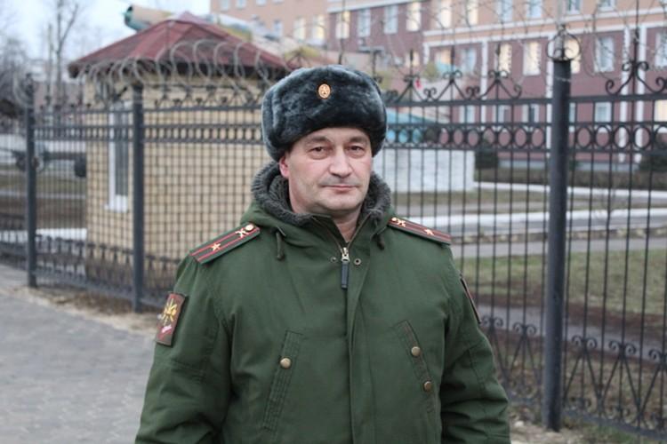 Майор Решетников.