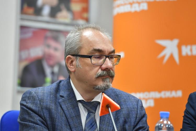 Вице-президент Всероссийского союза страховщиков Дмитрий Кузнецов.
