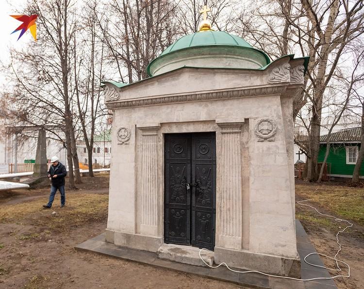 Усыпальница рода Волконских построена по проекту швейцарского архитектора Доменико Жилярди