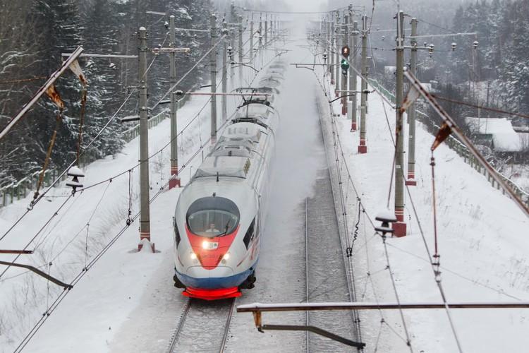 Скоростных поездов между Петербургом и Москвой стало курсировать больше. Фото предоставлено ОЖД.