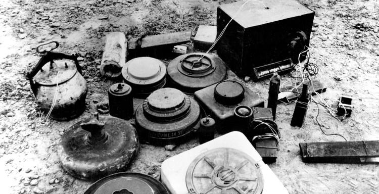 Самодельные взрывные устройства моджахедов.