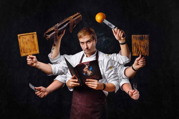 Шеф-повар, победитель кулинарного чемпионата Chef a-la russe Евгений Попов