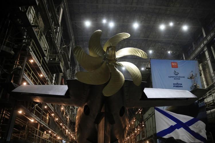 «Волхов» планируют передать заказчику уже в ноябре следующего года. Фото: пресс-служба завода «Адмиралтейские верфи».