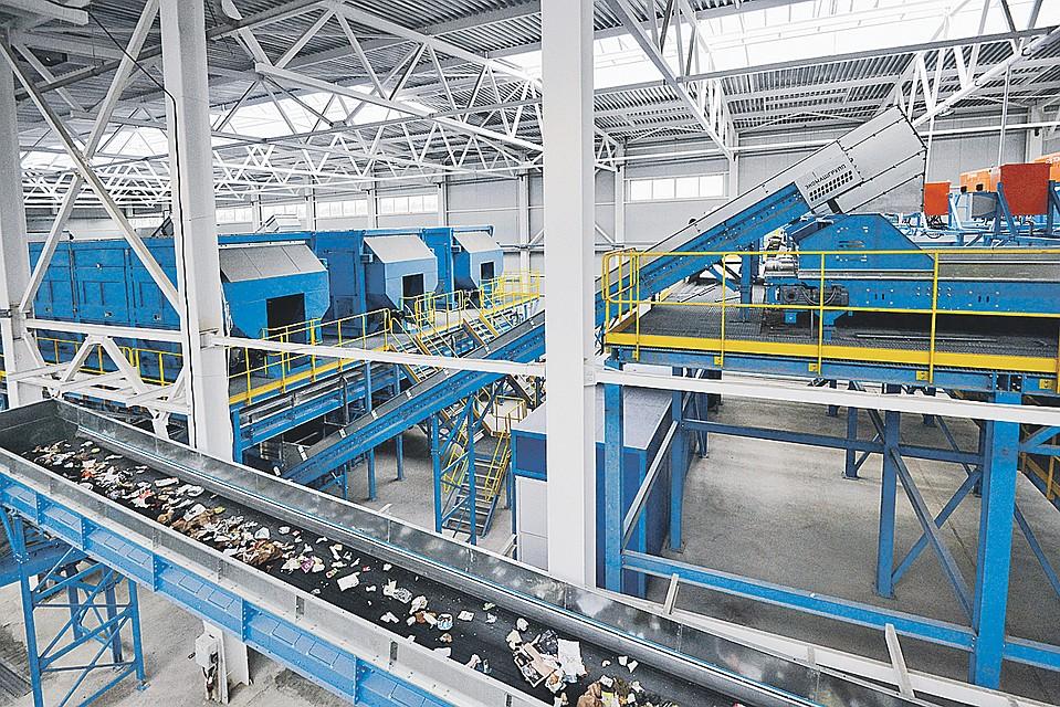 Комплекс по переработке отходов «Восток» в Егорьевске - самый крупный в Восточной Европе. Фото: пресс-служба правительства Московской области