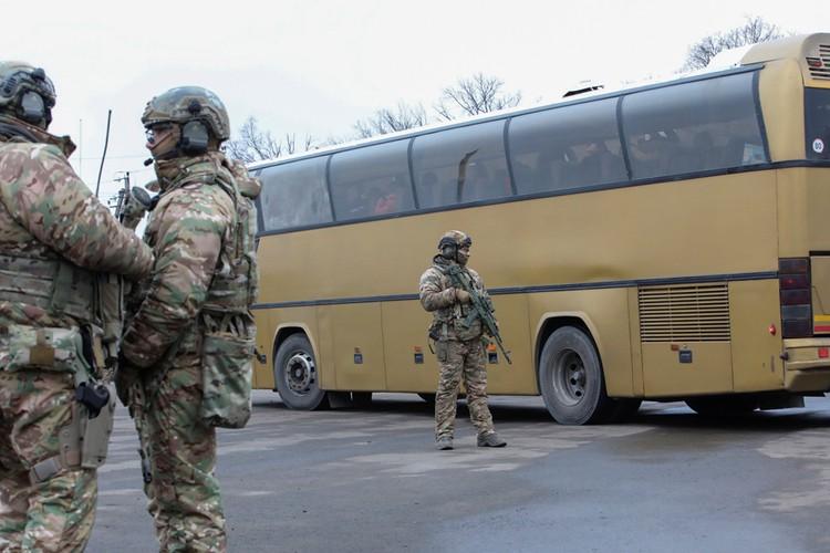 В воскресенье, на контрольном пункте «Майорское» под Горловкой состоялся обмен задержанных лиц