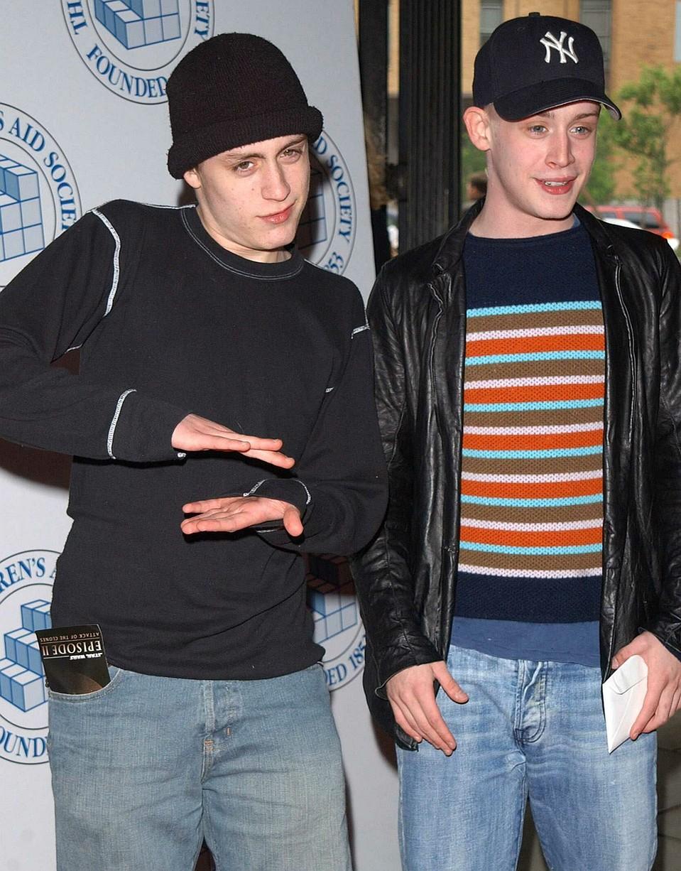 Макколей с братом Кираном Фото: EAST NEWS